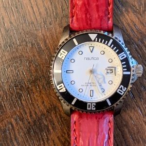 Vintage Nautica Diver Style Date Watch